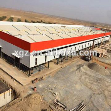Low Cost Light Steel Frame Prefab Industrial Shed