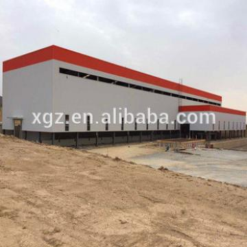 Prefab Light Steel Structure Industrial Workshop Building