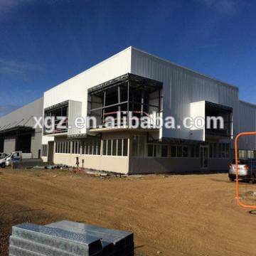 Chile Modular Prefabricated Steel Structure Showroom
