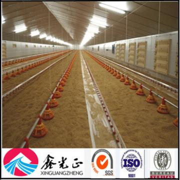 Prefabricated commercial design automated chicken poultry houses