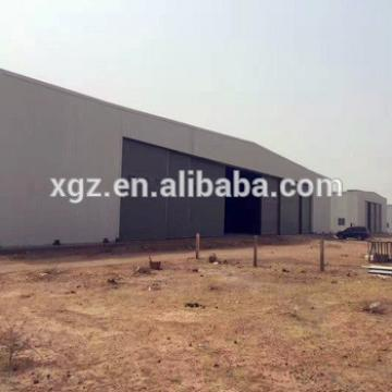 Prefabricated Steel Structure Construction Aircraft Hangar Plans
