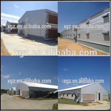 Industrial steel structure design poultry farm shed chicken house