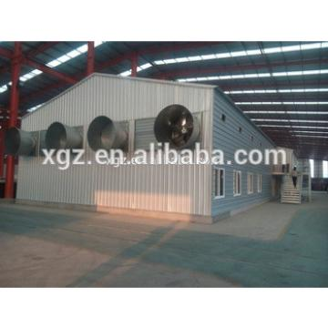 Construction Hot Sale Steel Structure Poultry Farm Types Of Poultry House