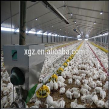 Steel structure farm broiler poultry house shed