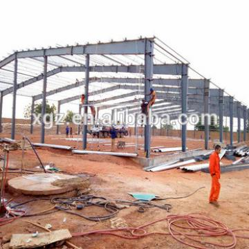 Low Cost Construction Design Steel Workshop In Algeria