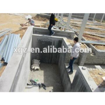 prefab steel structure poultry house steel chicken farms