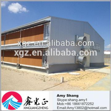 Alibaba China Chicken farm/controlled poultry farms/commercial chicken houses(Manufacture)
