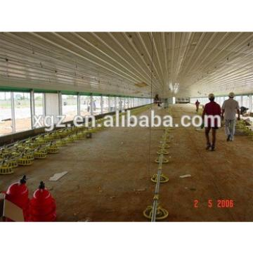 Poultry Broiler House/design Floor-saving Layer Chicken Shed For Algeria Hen Farm