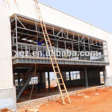 Modern Prefab Steel Structure Motor Repair Shop