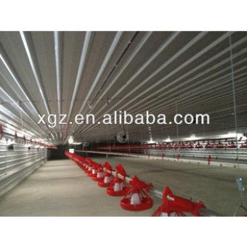 prefabricated chicken shed steel poultry slaughter house