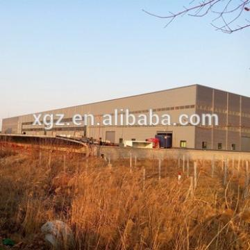 High Strength Prefabricated Galvanized Light Angola Steel Structure Workshop