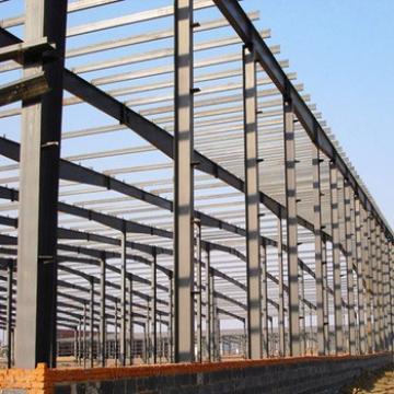 Low Cost Prefab Steel Structure Metal Workshop Building