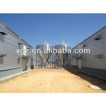 Economic Light steel frame big feed chicken farm