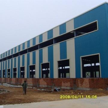 Large Low Cost Long Span Prefab Metal Storage Warehouse
