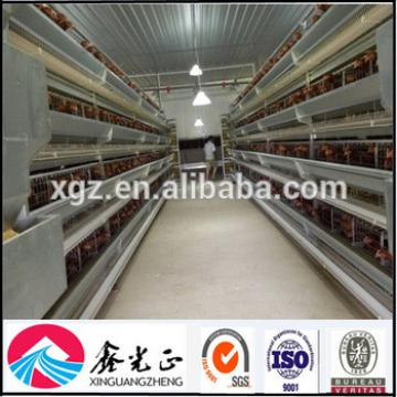 Chicken House For Automatic Chicken Layer Egg Cage In Poultry Farm