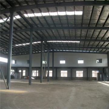 Construction Steel Frame Sandwich Panel Modern Steel Hangar