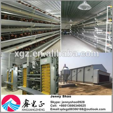 Design 3 And 4 Layers Chicken Cages For Feeding System And Chicken House