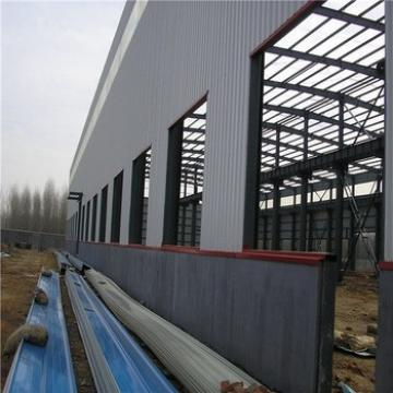Large Span Light Steel Structure Industrial Warehouse