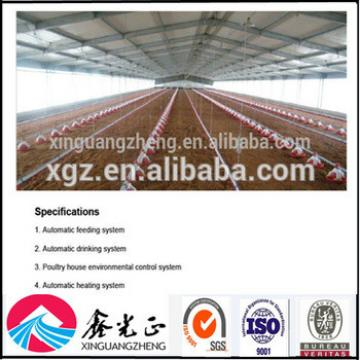 Steel structure sandwich panel poultry shed