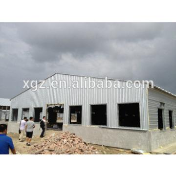 industrial steel structure design poultry farm shed chicken house for layers/broilers