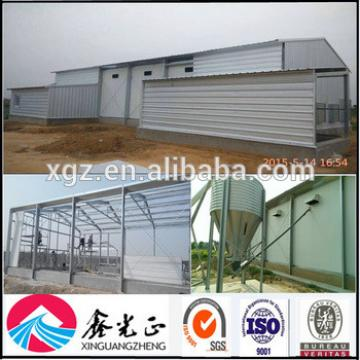 Prefab light steel structure commercial chicken house