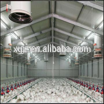 Building Light Steel Fabricated Structure Chicken House