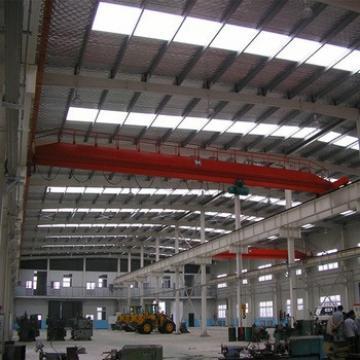 Low Cost Prefabricated Light Steel Metal Structure Portal Frame Workshop