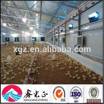Prefabricated commercial steel structure chicken house sale