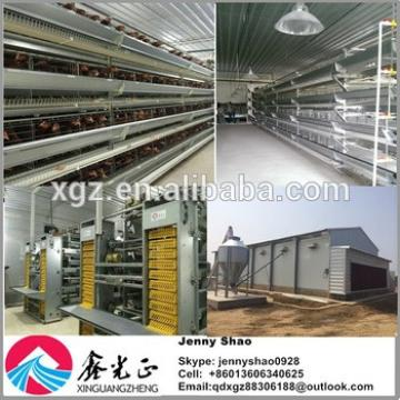 Good quality automatic egg chicken house design for layers