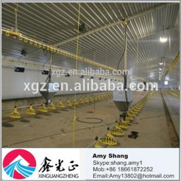 steel structure farm broiler poultry house construction design chicken house