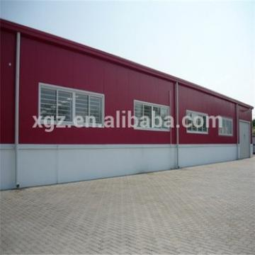 Low Price Prefabricated Steel Structure Warehouse With Office