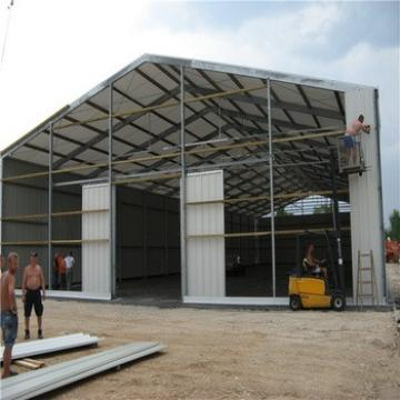 Low Cost Prefabricated Galvanized Steel Structure Shed