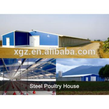 Modern Design nice appearance sandwich panel chicken poultry house shed for poultry farm
