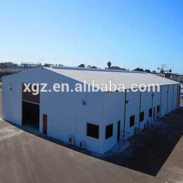 Light Prefabricated Steel Sudan Temporary Warehouse