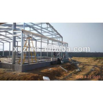 2015 customized design light steel prefabricated poultry house
