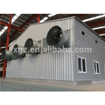 China steel structure building chicken poultry breeding house