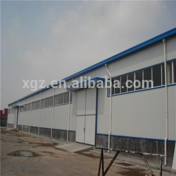 Prefabricated Light Steel Frame Warehouse Building Design