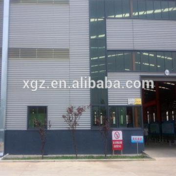 Metal Building Sudan Project Light Steel Prefabricated Industrial Warehouse