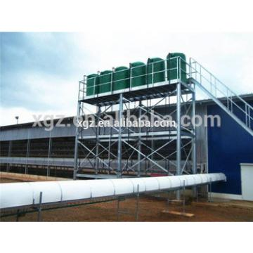 China steel structure building prefab poultry house plan