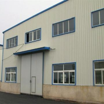 Low Cost Prefabricated Construction Steel Structure Warehouse Building