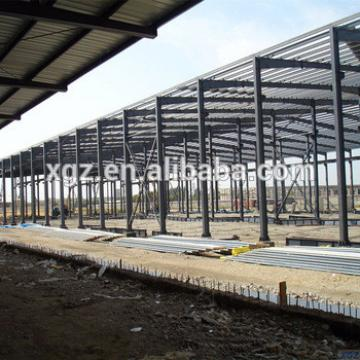 Low Cost Pre-fabricated Steel Structure Workshop In Sudan