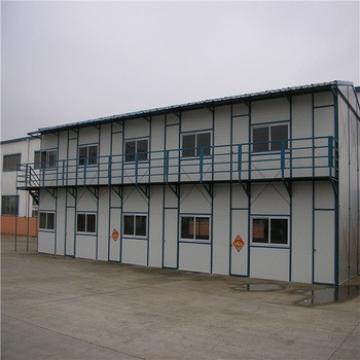 Chinese Low Cost Light Steel Building Construction Prefab House Supplier