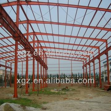 light steel warehouse metallic structure