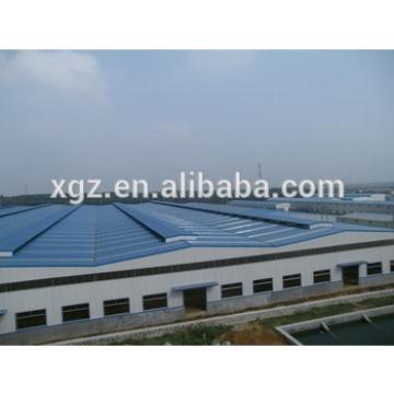 large scale prefabricated design steel structure workshop building
