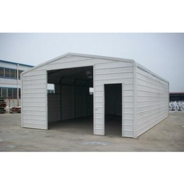 prefabricated steel car garage