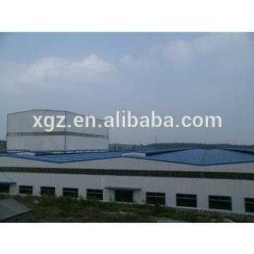 Well-design Steel Structure fabricated Warehouse construction