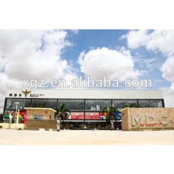 Steel Frame Prefabricated Steel Structure Supermarket Building