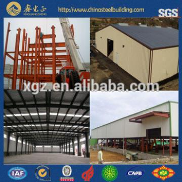 Light frame small warehouse prefabricated sheds metal storage