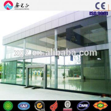 Qingdao showroom fast build construction projects for steel structure