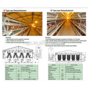 Best quality and professional design hen house for Poultry farm